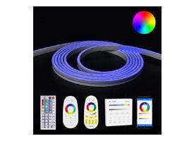 Led strip neon flex RGB complete sets