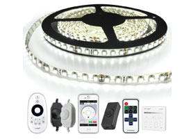 Led strip set koud wit