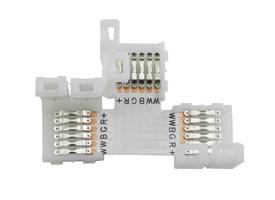 RGBWW led strip connector en kabels