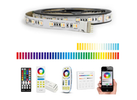 RGBWW led strip set