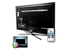 TV RGB USB led strip set