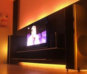 led strip toepassingen achter de televisie