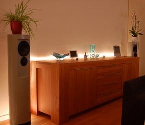 led strip toepassingen achter meubels