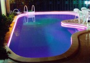 led strip toepassingen in het zwembad